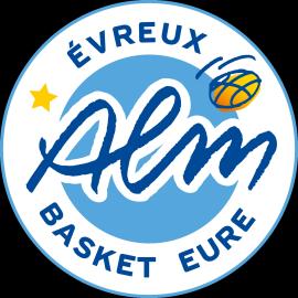ALM Evreux Basket ALM Evreux Maillot Officiel Domicile 2018-2019 Camiseta de Baloncesto Unisex Adulto