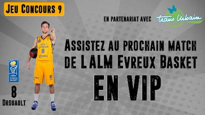 Venez assister au prochain match en VIP !