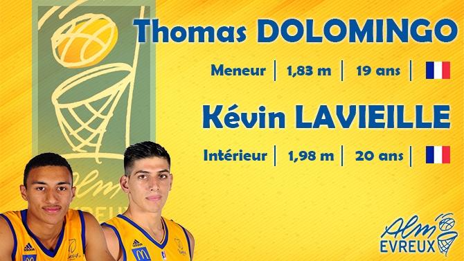 K�vin et Thomas en contrat stagiaire la saison prochaine !