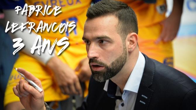 Fabrice Lefrançois signe pour 3 ans !