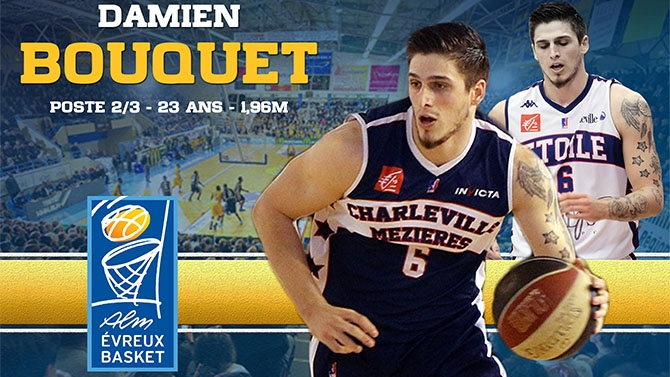 Damien Bouquet rejoint l'ALM