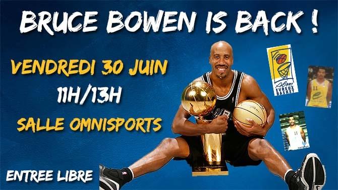 Bruce Bowen à Evreux !