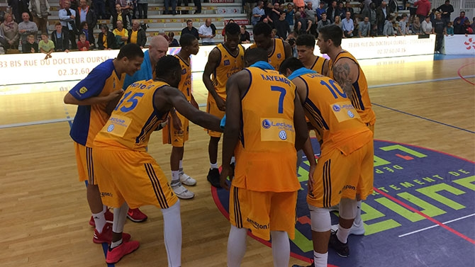 Leaders Cup J1 : ALM Evreux 86 - 75 Caen