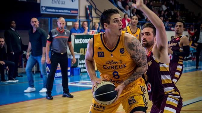 Leaders Cup J4 : Orléans 83 - 91 Evreux