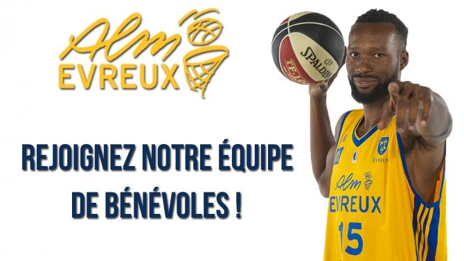Devenez Bénévoles de l'ALM Evreux Basket
