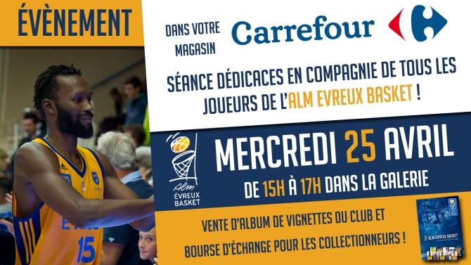 Séance Dédicaces chez Carrefour