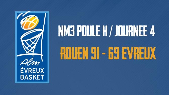 L'ALM s'incline à Rouen