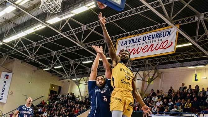 PRO B J6 : Poitiers / Evreux
