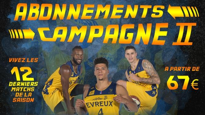 Abonnement : Campagne 2 !