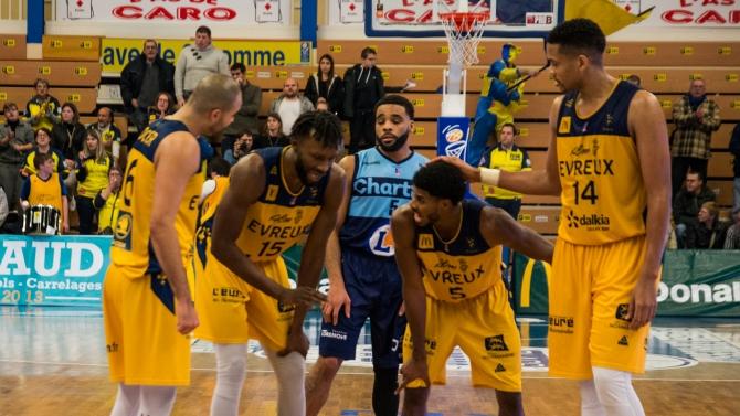 J11 : ALM Evreux 82 - 75 Lille
