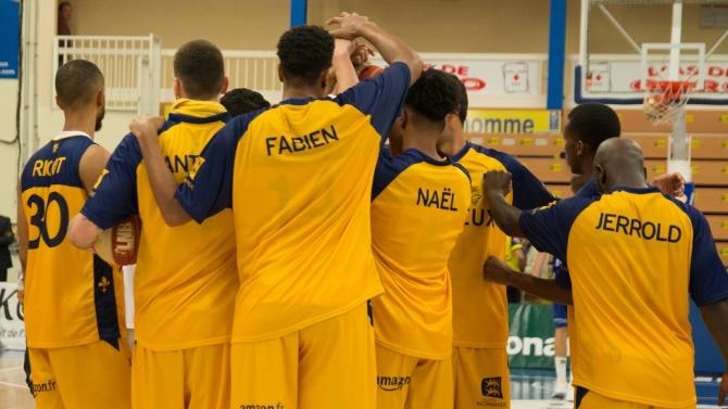 Leaders Cup J1 : Evreux 88 - 94 Rouen