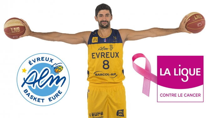 L'ALM avec la Ligue contre le Cancer !