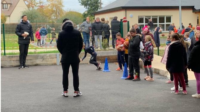 L'ALM à l'école Saint-Elier !