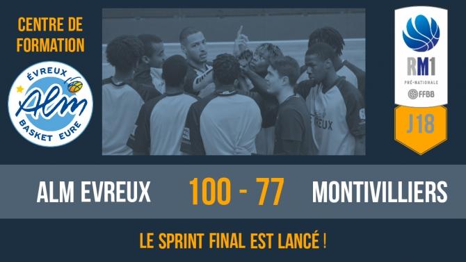 Victoire face à Montivilliers !