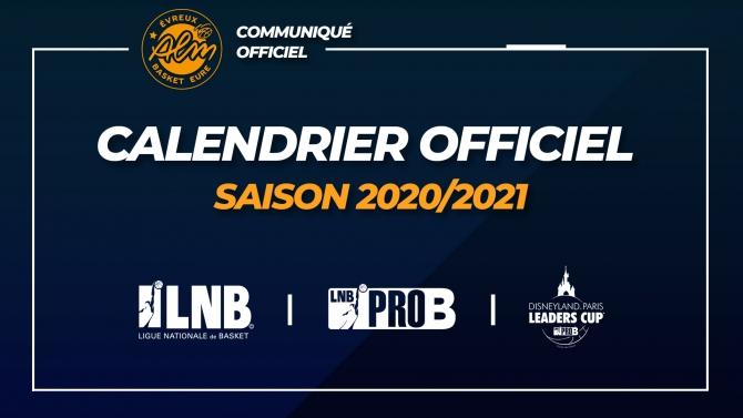 ALM Evreux Basket Eure | Pro B | Actualités | CALENDRIER PRO B