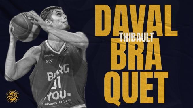THIBAULT DAVAL-BRAQUET ARRIVE A EVREUX !