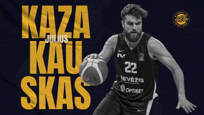 Julius Kazakauskas nouvelle recrue !