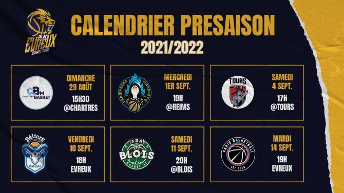 PRESAISON 2021/2022