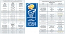 Le planning pour Ao�t et Septembre de l�ALM Evreux Basket