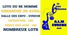 Le 6ème Homme organise son Loto Dimanche 30 Avril