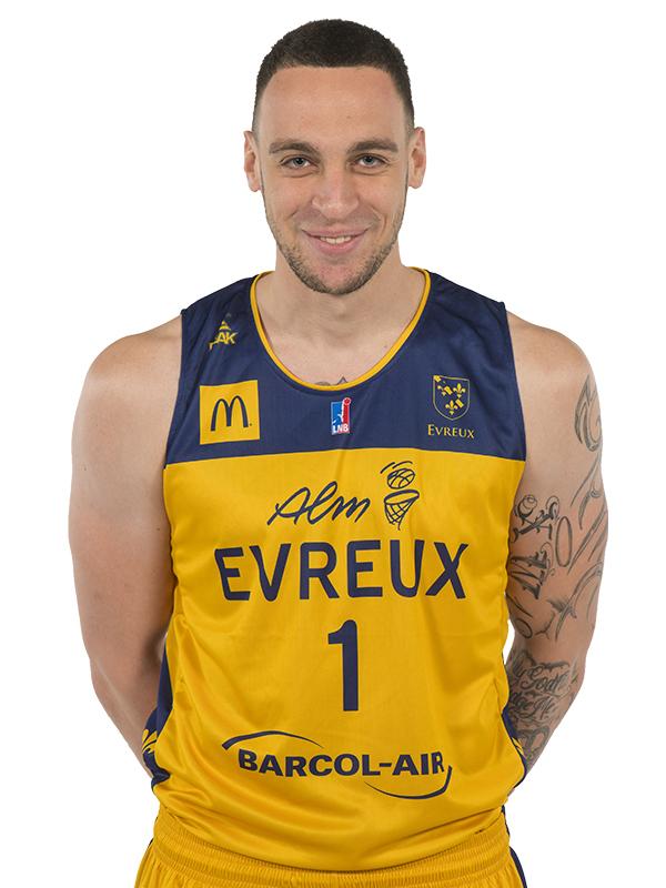 ALM EVREUX BASKET - Antoine Wallez