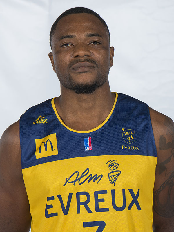 ALM EVREUX BASKET - Ruphin  KAYEMBE